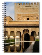Alhambra Palace Granada Spain Spiral Notebook
