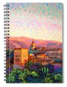 Alhambra, Granada, Spain Spiral Notebook