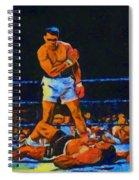 Ali Over Liston Spiral Notebook