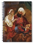 Ali Pacha And Kyra Vassiliki Spiral Notebook