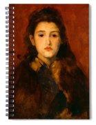 Alice Butt Spiral Notebook