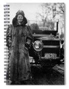Alice Huyler Ramsey, American Spiral Notebook