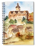 Alice's Castle Spiral Notebook