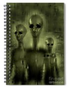 Alien Brothers Spiral Notebook