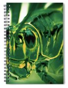 Alien Spiral Notebook