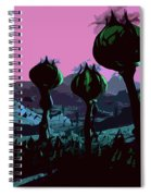 Alien Eden Spiral Notebook