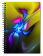 Alien Flower 2 Spiral Notebook