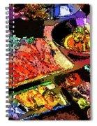 Alien Food Delicacies Spiral Notebook