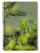 Alien Garden 2 Spiral Notebook