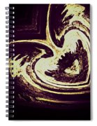 Alien Heart Spiral Notebook