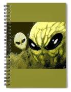 Alien Invasion Spiral Notebook