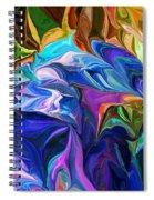 Alien Jungle Flora Spiral Notebook