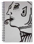 Alien Lick Spiral Notebook