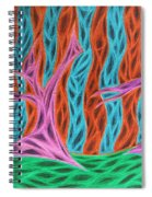 Alien Moon Dance Spiral Notebook