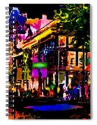 Alien Night Out Spiral Notebook