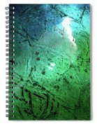 Alien Planet Spiral Notebook
