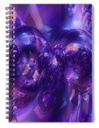 Alien Structures Spiral Notebook