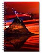 Alien Sunrise Spiral Notebook