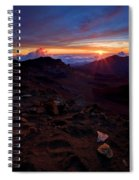 Alien Sunrise Spiral Notebook