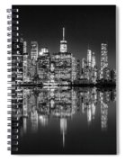 Alive At Night Spiral Notebook