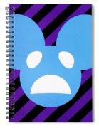 Alivemau6 Spiral Notebook