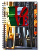 All About Love Spiral Notebook