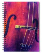 All About The Bass Spiral Notebook