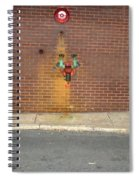 All Alone Pipe Spiral Notebook
