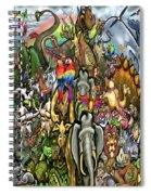 All Creatures Great Small Spiral Notebook