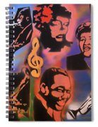 All Dat Jazz Spiral Notebook