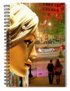 All Dressed Up And No Place To Go Spiral Notebook