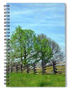All Fenced In Along The Blue Ridge Parkway Spiral Notebook