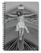 All For You Grayscale Spiral Notebook