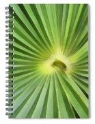 All Green Spiral Notebook