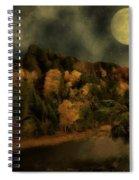 All Hallows Moon Spiral Notebook