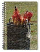 All In A Quiver Spiral Notebook