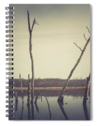 All Is Calm At Green Bottom Spiral Notebook