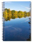 All Is Quiet On The River Spiral Notebook