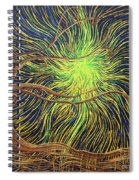 All Is Woven By The Light Spiral Notebook