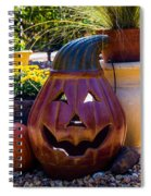 All Smiles For Halloween Spiral Notebook