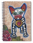 All Souls Day Aztec Spiral Notebook