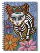 All Souls Day Elsa Spiral Notebook