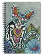 All Souls Day Leo Spiral Notebook