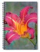 All Summer Lily Spiral Notebook