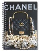 Timeless Beautiful Accessories  Spiral Notebook