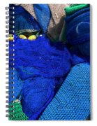 All The Blue Of The Sea Spiral Notebook