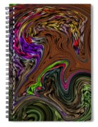 All The Colors Of A Dream Within A Dream  Spiral Notebook