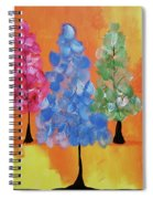 All The Pretty Colors II Spiral Notebook