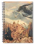All Things Die  But All Will Be Resurrected Through God's Love Spiral Notebook
