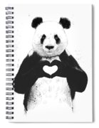 All You Need Is Love Spiral Notebook